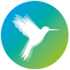 Logo hummingbird